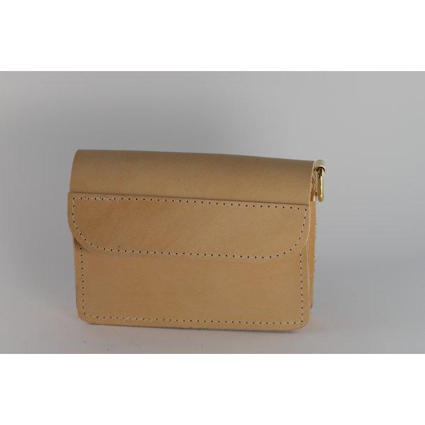 retro læder taske
